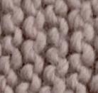 Strick - mauve