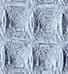 Waffel - graublau